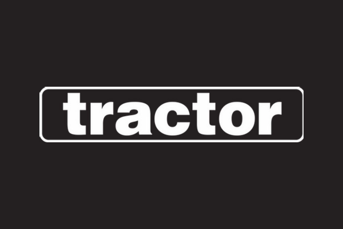 tractor logo black